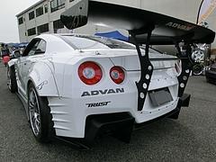 日産GT-R(R35)左後ろ