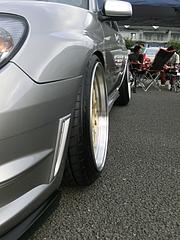スバル・インプレッサS204 フロントタイヤ
