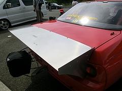ドラッグマシン日産スカイラインGT-R(R32)ドラッグウィング