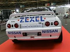 ZEXELスカイライン(R32)リヤビュー