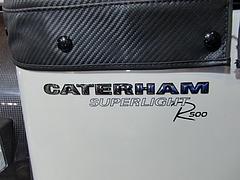 ケータハム スーパーライトR500エンブレム