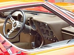ランボルギーニ ミウラ運転席1