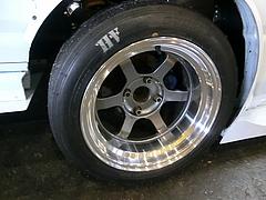 レイズ ボルクレーシングTE37Vホイール