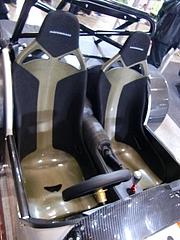ケータハム スーパーライトR500シート