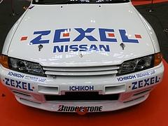 ZEXELスカイライン(R32)ボンネット