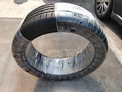 ヤフオクで落札した中古タイヤ