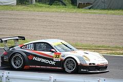 ハンコック ポルシェ911GT3R鈴鹿1コーナー