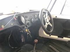 トヨタ・スポーツ800(UP15)運転席