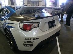 トヨタ86(ZN6)左後ろ