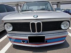 BMW2002ターボ前面