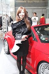 東京オートサロン2013キャンギャルのお姉さん4人目