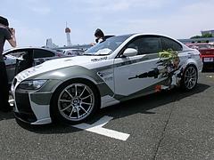 痛車BMW・M3(E92) 左側面