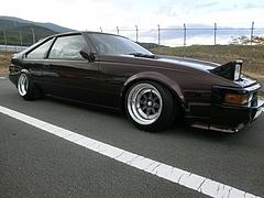 トヨタ・セリカXX右側面