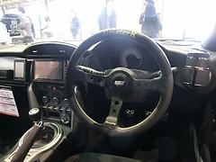 トヨタ86(ZN6)運転席