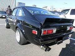 日産サニー1200GX(B110)左後ろ