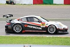 ハンコック ポルシェ911GT3R鈴鹿2コーナー