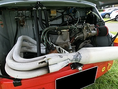 フィアット・アバルト1000TCR エンジン