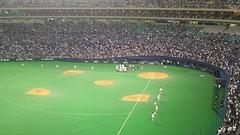 名古屋ドーム試合風景2