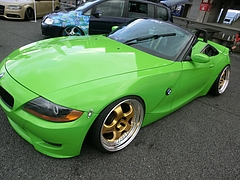BMW・Z4左前