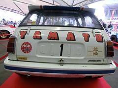 初代ホンダ・シビックレース仕様車リヤビュー
