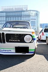 BMW2002ti  フロントマスク