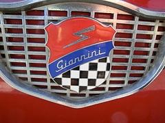 ジャンニーニ590GTコルサ フロントエンブレム