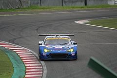 スバルBRZ R&Dスポーツ GT300鈴鹿最終コーナー