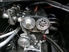 SSワークスelfレビン(AE86)4A-Gエンジン