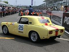 ホンダ・S800RSCレースカー左後ろ