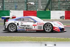 鈴鹿2コーナーのウィダーHSV-010