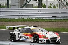 無限ホンダCR-Z GT鈴鹿1コーナー