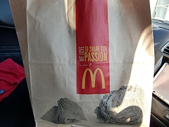 マクドナルド 袋