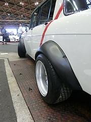 昭和39年式トヨタ・コロナ オーバーフェンダー