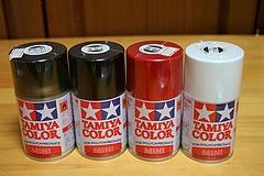 タミヤ缶スプレー(ポリカーボネイト用)