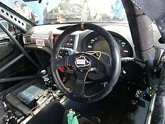スバル インプレッサSTiニュル24時間耐久レース参戦車両コクピット