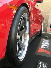 MCR日産GT-R(R35) フロントタイヤ