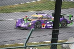 エヴァンゲリオンRT初号機アップル紫電 鈴鹿最終コーナー