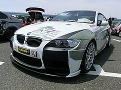 痛車BMW・M3(E92)左前