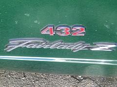 日産・フェアレディZ432(PS30)エンブレム