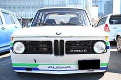 BMW2002tiフロントマスク