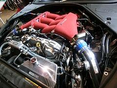 トラスト グレッディ35RXコンセプトエンジンルーム