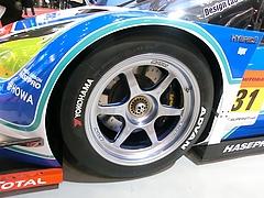 スーパーGT aprプリウスGT300仕様フロントタイヤ