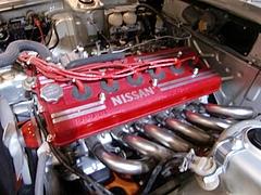 日産スカイラインGT-R(KPGC110)S20エンジン
