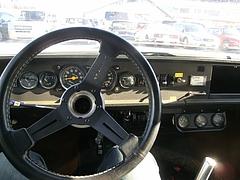シムカ・ラリー3運転席