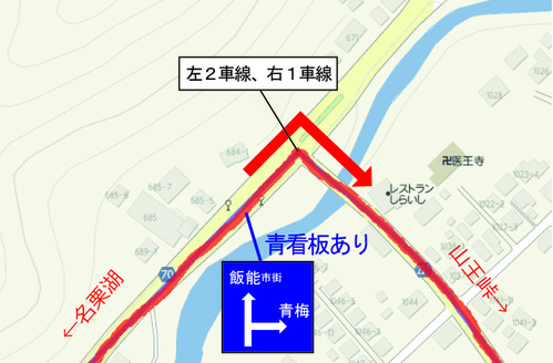 山王峠入り口