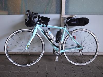 自転車の 自転車 フロント カメラバッグ : ... バッグと実際に使った装備一覧