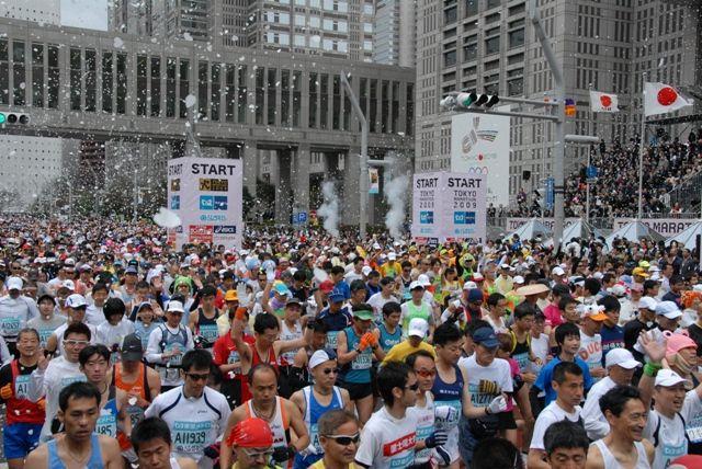 東京マラソンに潜む国家機密