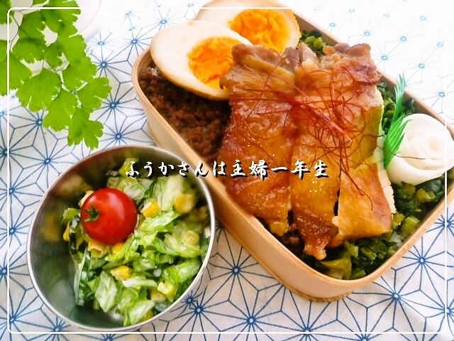 ふうかさんは主婦一年生-鶏飯全体.jpg
