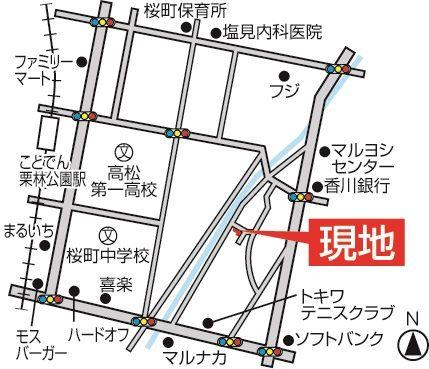 今里町第一(地図) - コピー