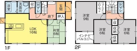 今里町第一4号棟(間取) - コピー